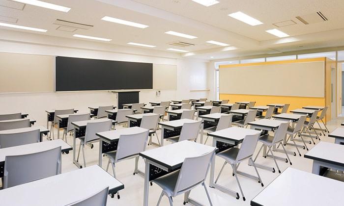 写真:教室